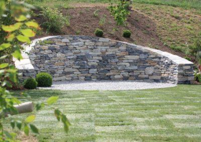 mur en pierre seche apres 1